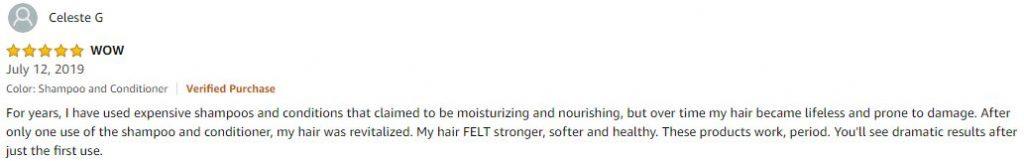 hair loss shampoo review