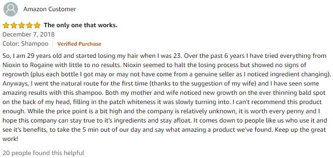peat mud shampoo review