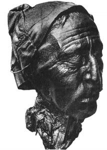 Head of the Tollund Man